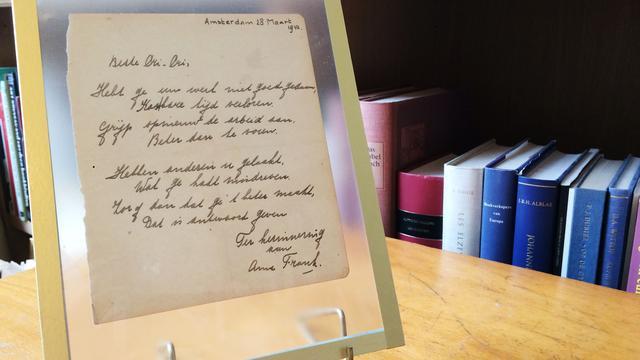 Gedicht Anne Frank brengt 140.000 euro op