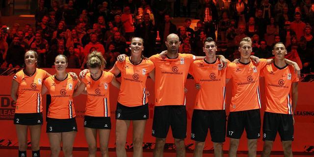 Korfballers plaatsen zich door ruime zege wederom voor EK-finale