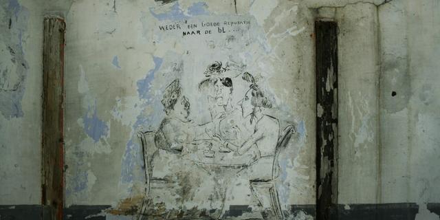 Historische muurschilderingen in Fort benoorden blijven behouden