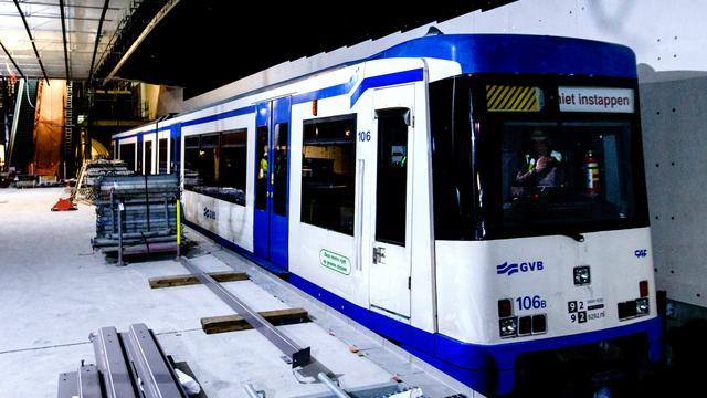 GVB wil Amsterdammers veel vaker in de metro