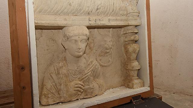 Zwitserse autoriteiten leggen beslag op gestolen relieken uit Palmyra