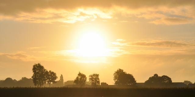 Weerbericht: De zon schijnt de hele dag volop