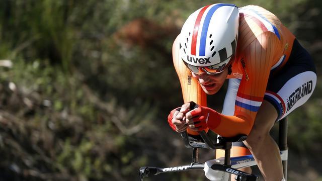 Dumoulin start woensdag als voorlaatste bij tijdrit WK wielrennen