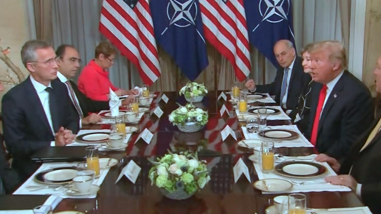 Trump tegen NAVO-voorzitter: 'Duitsland is gevangene van Rusland'