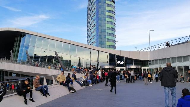Station Arnhem Centraal ontruimd na brandmelding