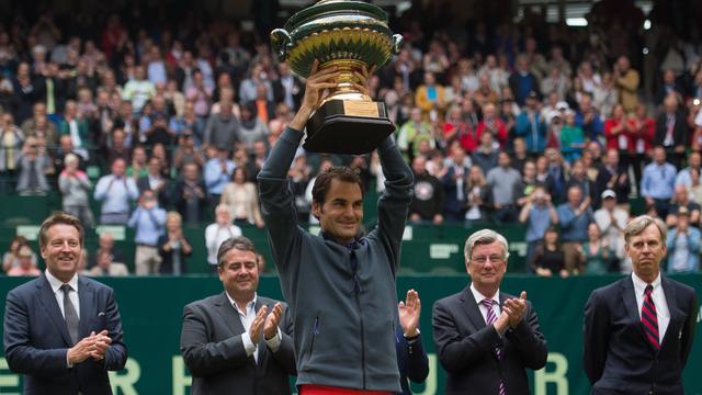 Federer schrijft voor achtste keer grastoernooi in Halle op zijn naam