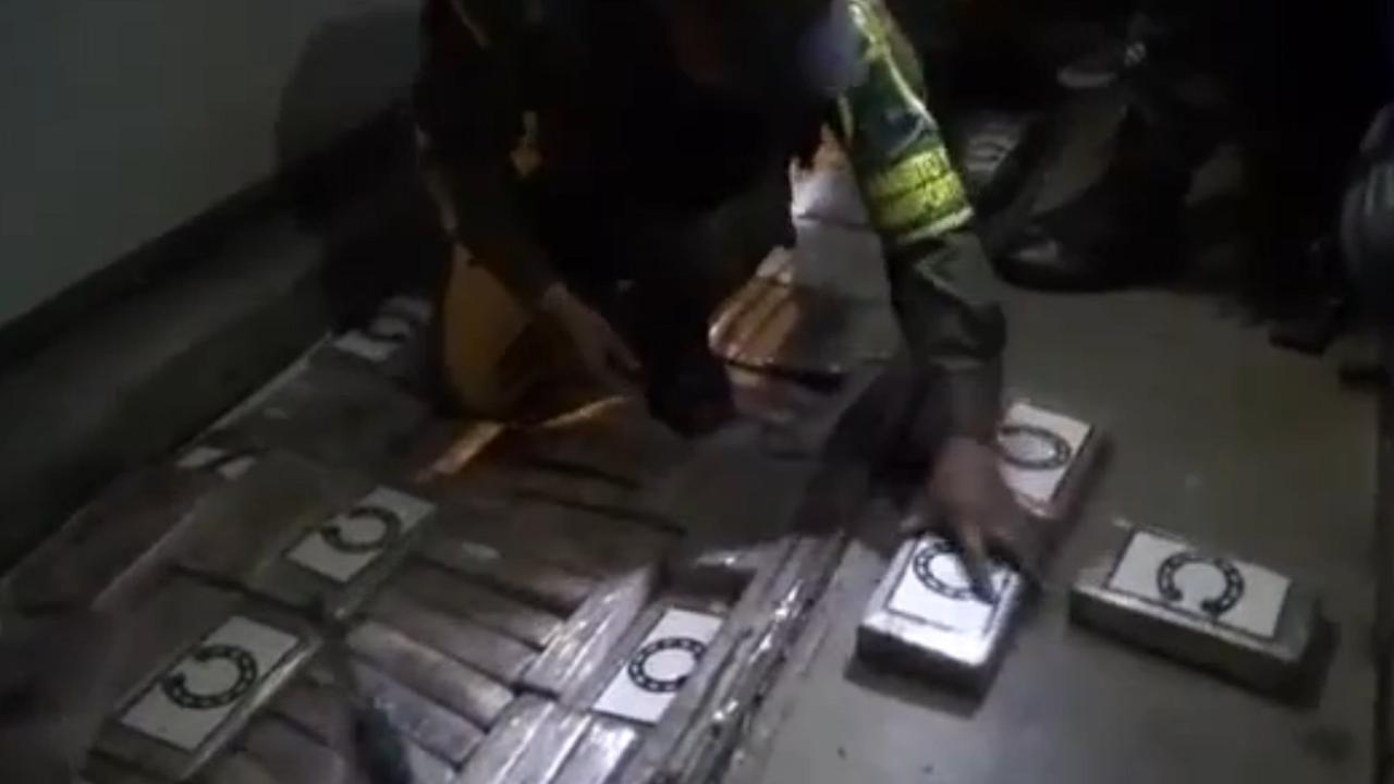 Cocaïne verstopt in supportersbussen Colombia