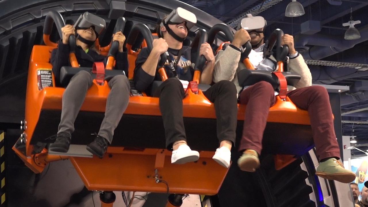 Deze virtualrealityachtbaan komt snel naar Nederland