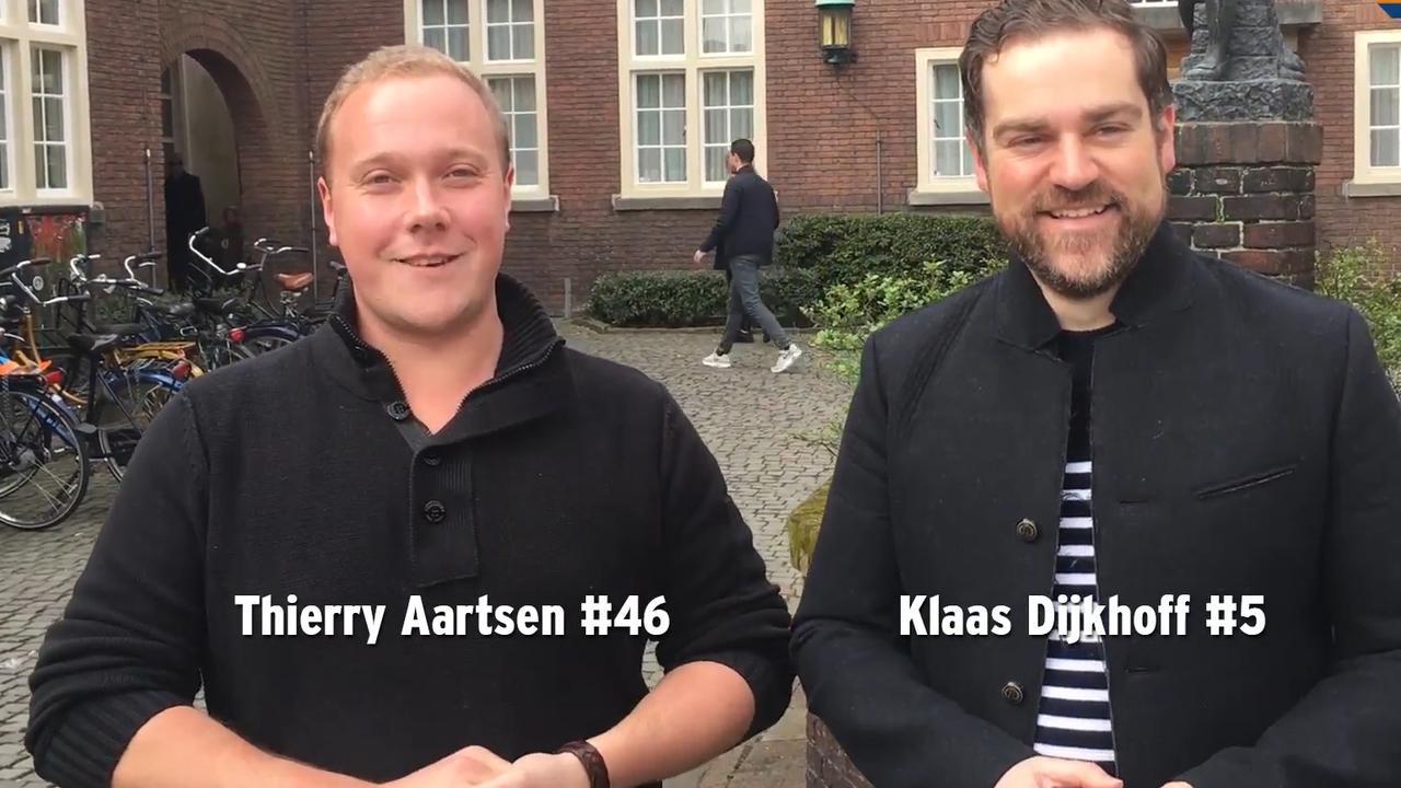 Dijkhoff en Aartsen in campagnevideo VVD uit 2017