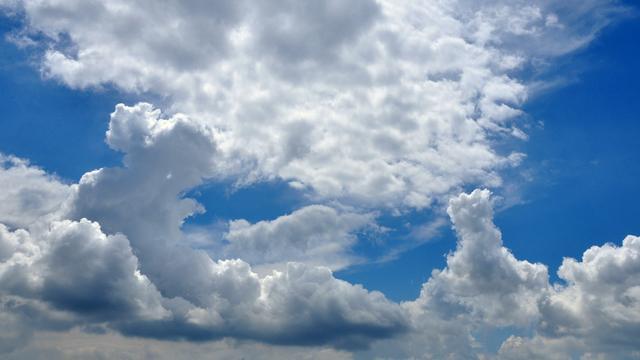 Weerbericht: Dag begint zonnig, maar later ontstaan er stapelwolken