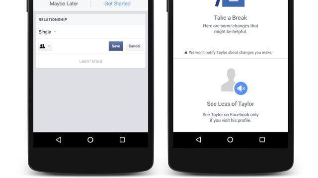 Facebook gaat ex-partners sneller verbergen