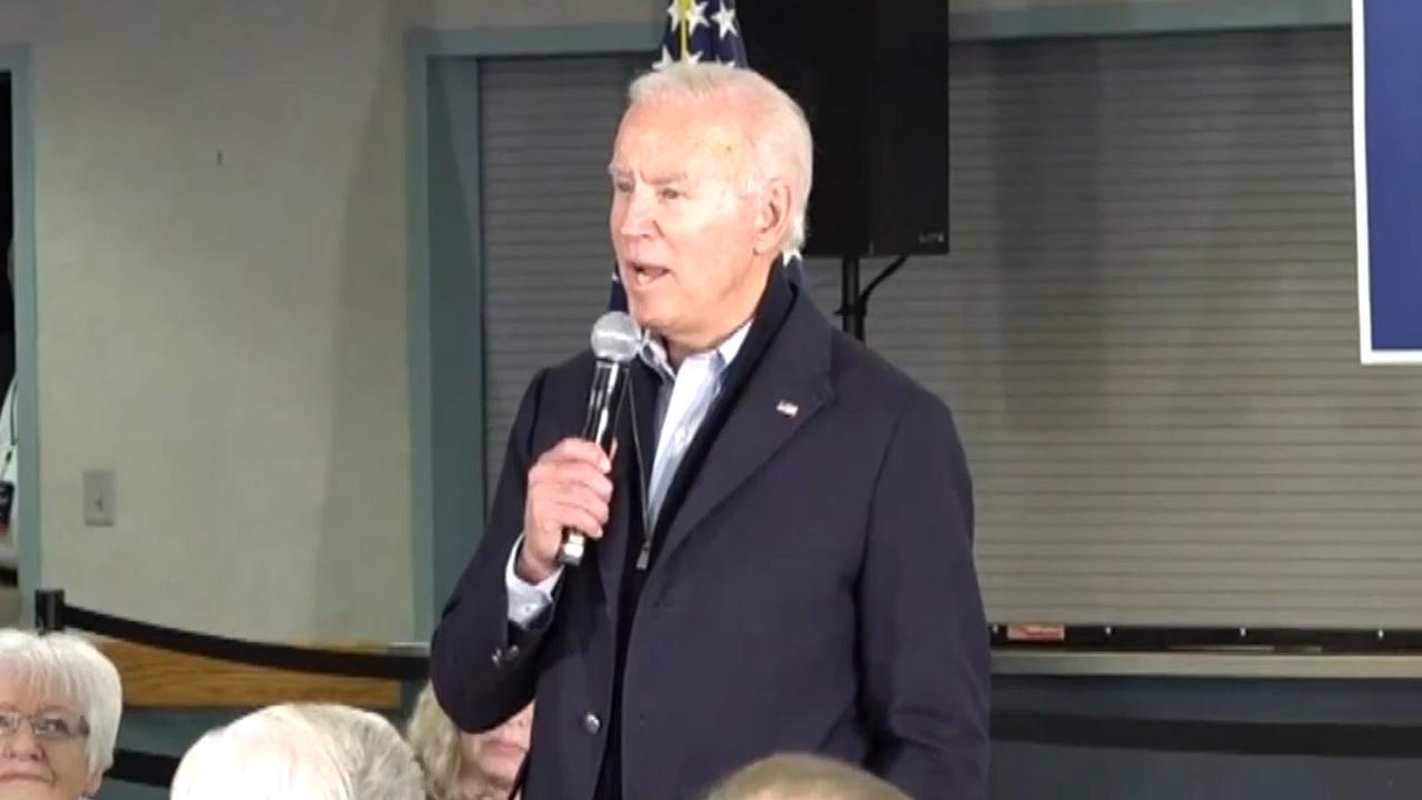 Presidentskandidaat Biden krijgt ruzie met man tijdens campagne