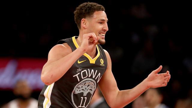 Warriors moeten Thompson enige tijd missen door gebroken duim