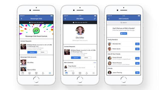 Groep experts vraagt Facebook te stoppen met chat-app voor kinderen