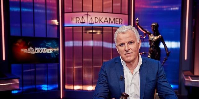 Peter R. de Vries denkt niet dat hij te vaak op televisie te zien is