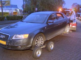 Agenten schoten tijdens nachtelijke achtervolging op vluchtauto