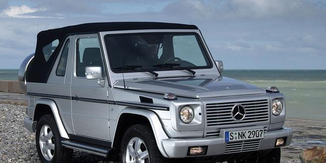 Mercedes test nieuwe G-klasse