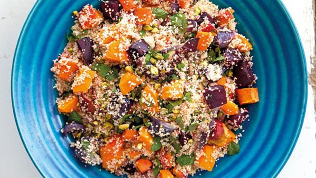 Recept: Couscous met geroosterde groente