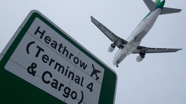 Recordaantal passagiers reisde in 2016 via luchthaven Heathrow