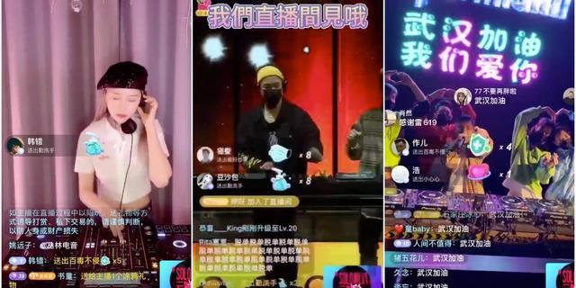 Club dicht vanwege het coronavirus? China viert een feestje in de cloud