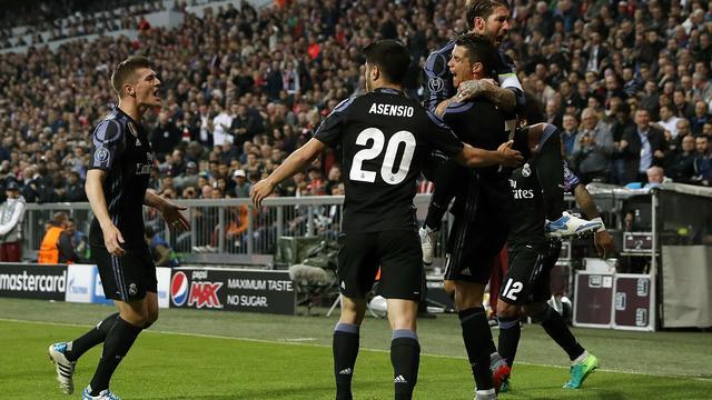 Robben verliest met Bayern van Real in kwartfinale Champions League
