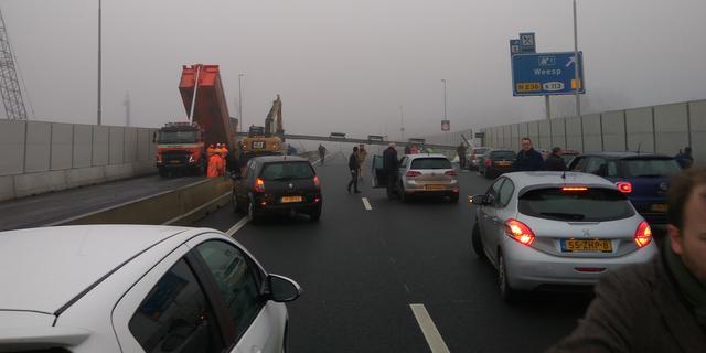 A9 weer open na dodelijk ongeval