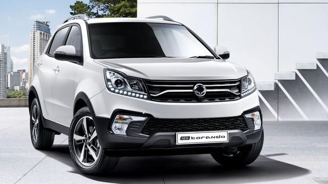 Nieuwe motoren en elektrische auto voor SsangYong