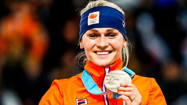 Bekijk de eindstand van de medaillespiegel met Nederland op plek vijf