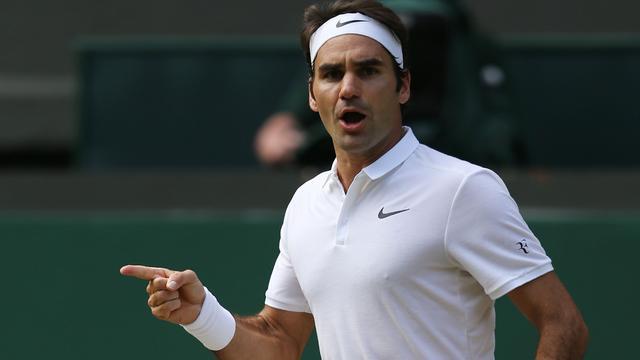 Federer opgelucht na 'ongelooflijke wedstrijd' tegen Cilic