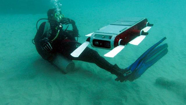 'Experimentele robot kan zelfstandig zeebodem verkennen'