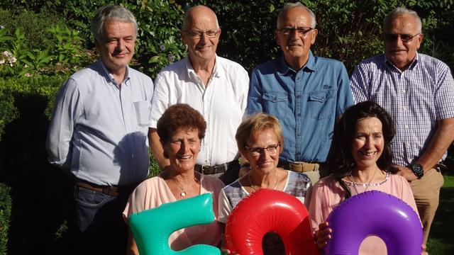 Broers en zussen Van Baal samen 500 jaar oud