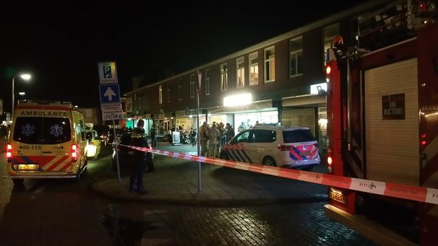 Nog geen spoor van man die kapper in brand stak in centrum Enschede