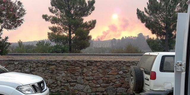 Omwonenden bosbrand Spanje terug naar huis