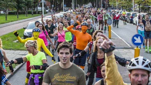 Nieuwe seizoen Skate Parade in Utrecht gaat vrijdagavond van start