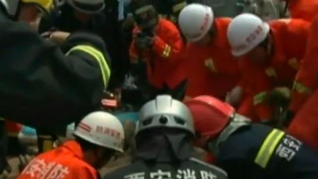 Peuter in China uit 60 meter diepe put gered