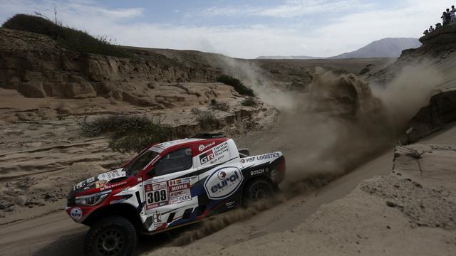 Ten Brinke had nooit verwacht derde te staan na eerste Dakar-week