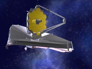 Opvolger van Hubble zou in 2007 al de ruimte ingaan