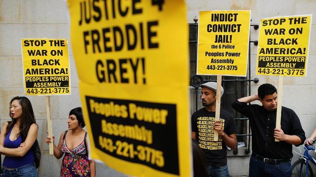 Geen vervolging agenten Baltimore na dood zwarte Amerikaan