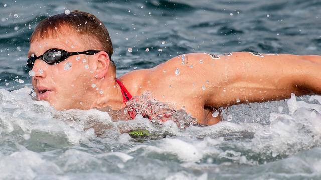 Ferry Weertman maakt zich geen zorgen na zijn achtste plek in Doha.