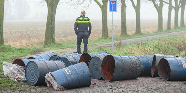 Aantal drugsdumpingen daalt, criminelen lozen afval vaker in grondwater