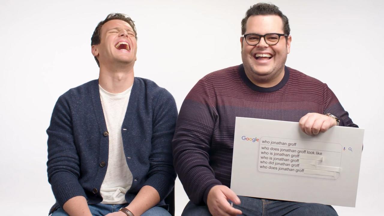Frozen 2-acteurs beantwoorden Google-vragen: 'Josh Gad is aardig'