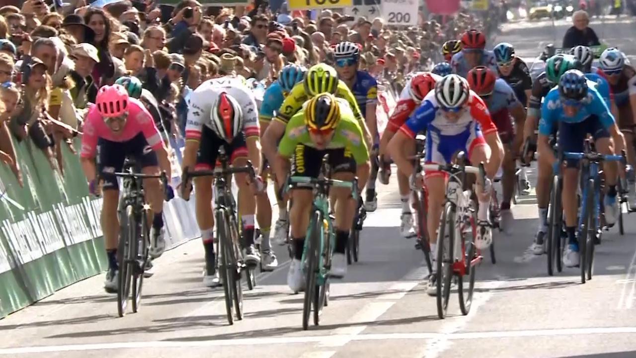 Roglic wint eerste etappe in Ronde van Romandië