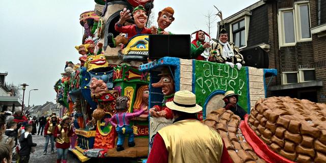 Carnavalsoptocht Heerle afgelast door harde wind