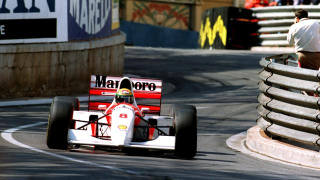 Formule 1-auto waarmee Senna voor zesde keer Monaco won geveild
