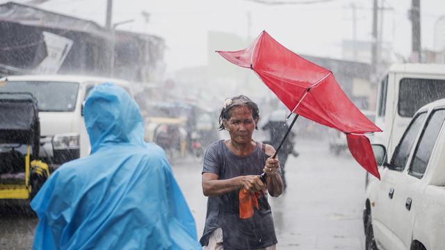 Meerdere mensen omgekomen op Filipijnen door tyfoon
