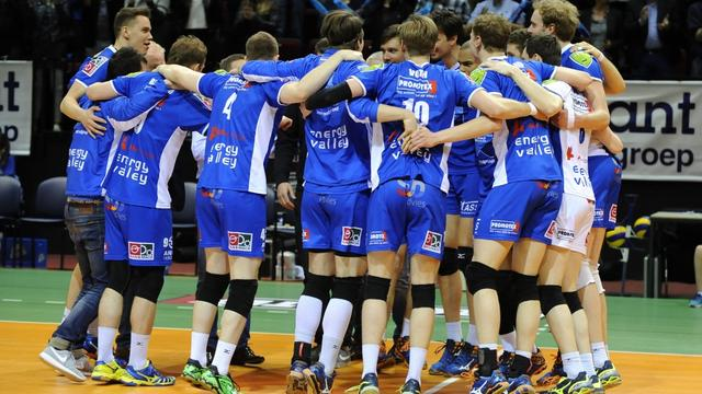 Volleyballers Lycurgus veroveren eerste landstitel in clubhistorie