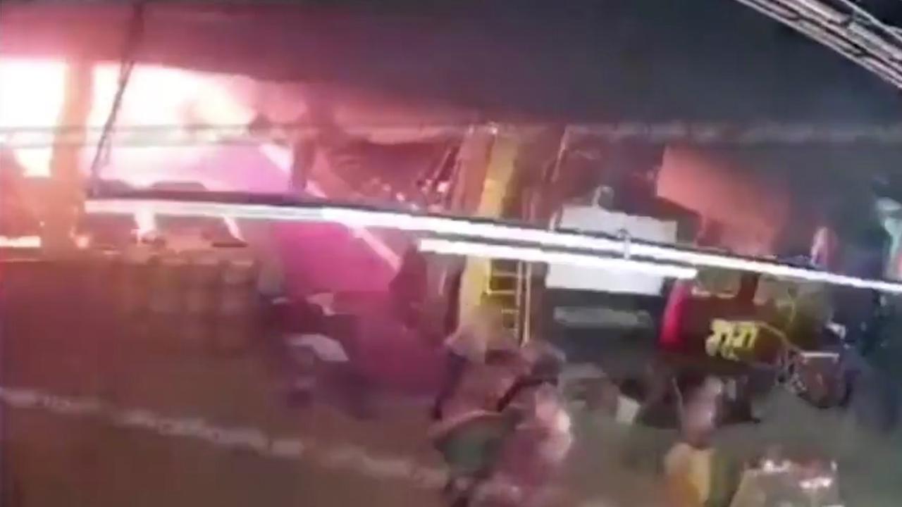 Ontstaan van fatale brand in Russisch winkelcentrum vastgelegd