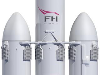 Eerste lancering Falcon Heavy uitgesteld