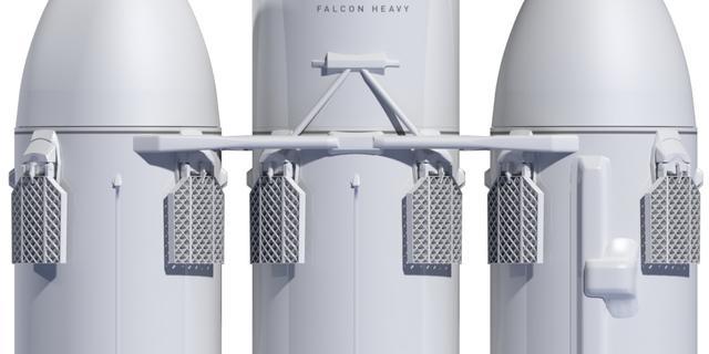 SpaceX lanceert krachtigere Falcon Heavy-raket begin 2018