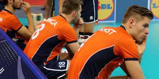 Volleyballers na nederlaag tegen Slovenië uitgeschakeld op EK